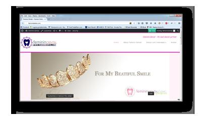 Portfolio feminindental.com
