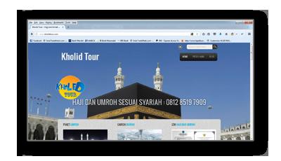 Portfolio kholidtour.com