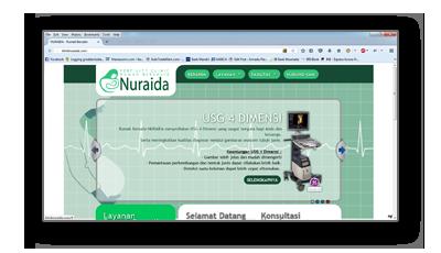Portfolio kliniknuraida.com