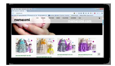 Portfolio mamacomi.com