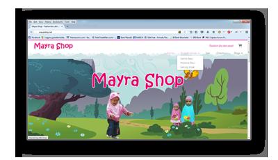 Portfolio mayrashop.net