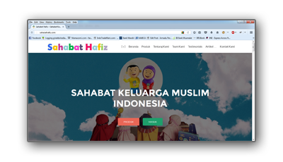 Portfolio sahabathafiz.com
